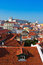 Stock Image : Alfama District in Lisbon with Monastery of Sao Vicente de Fora