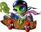 Stock Image : Alien Skater