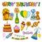 Stock Image :  Alles Gute zum Geburtstag