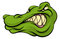 Stock Image : Alligator or crocodile mascot