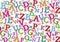 Stock Image : Alphabet background