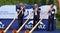 Stock Image : Alpine Horn Festival