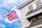 Stock Image : American flag