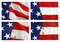 Stock Image : American Flag Collage