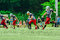Stock Image : American football players