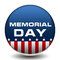 Stock Image : American Memorial Day Badge