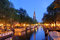 Stock Image : Amsterdam twilight