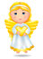 Stock Image : Angel with heart