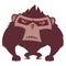 Stock Image : Angry Ape