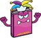 Stock Image : Angry Cartoon Joke Book