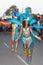 Stock Image : The annual Carnival in the capital in Cape Verde, Praia.