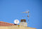 Stock Image : Antennas and chimney