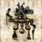 Stock Image : Antique mechanical figure