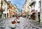 Stock Image : Aosta City Cross Street