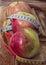 Stock Image : Apples, vegetarian kitchen