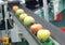 Stock Image : Apple conveyor belt
