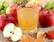 Stock Image : Apple juice