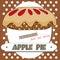 Stock Image : Apple pie poster