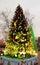 Stock Image : Art christmas tree