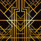 Stock Image : Art deco geometric pattern
