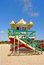 Stock Image : Art Deco Lifeguard Stand -Miami Beach