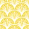 Stock Image : Art deco vector geometric pattern in bright yellow