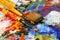 Stock Image : Art palette