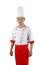 Stock Image : Asian chef portrait