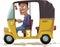 Stock Image : Asian Rickshaw