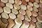 Stock Image : Assorted wine corks