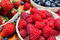 Stock Image : Assortment of berries, colorful ripe and fresh