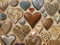 Stock Image : Assortment of heart shaped things