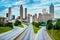 Stock Image : Atlanta downtown skyline