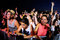 Stock Image : Audience in a party at FIB Festival