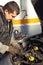 Stock Image : Auto mechanic