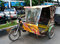 Stock Image : Auto rickshaw taxi in Medan, Indonesia.