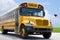 Stock Image : Autobús escolar en el blacktop