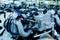 Stock Image : Automotive engine