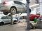 Stock Image : Automotive service garage