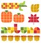Stock Image : Autumn Fall Set/eps