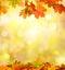 Stock Image : Autumn falling leaves