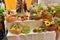 Stock Image : Autumn harvest market