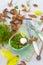 Stock Image : On the autumn kitchen table