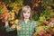 Stock Image : Autumn portrait