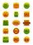Stock Image : Autumn Sale Stickers