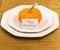 Stock Image : Autumn Thanksgiving dinner table setting