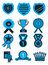 Stock Image : Award Medal Icon Set