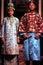 Stock Image : Baba Nyonya couple