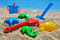 Stock Image : Baby beach toys