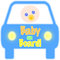 Stock Image : Baby on Board Tag